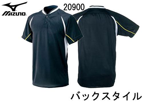 ミズノ 野球ウエア MIZUNO 52le2 マルチベースボールシャツ ハーフボタン小衿付き シャツ