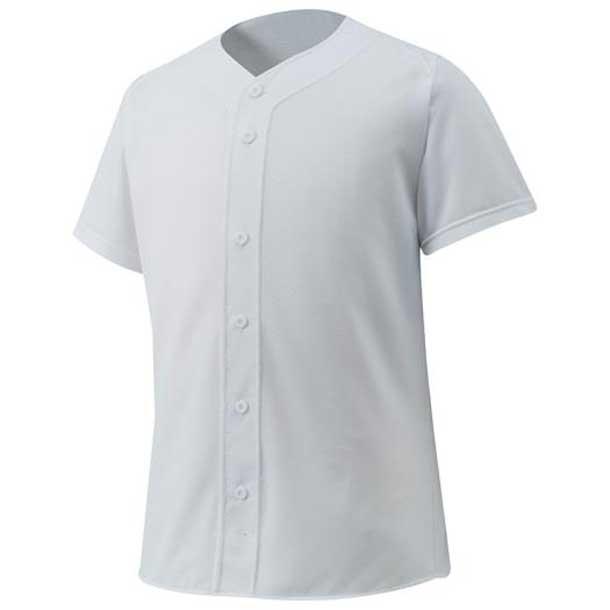 シャツ/オープンタイプ 野球 01ホワイト MIZUNO ミズノ ウエア ユニフォームシャツ 12JC6F4001 野球ウエア