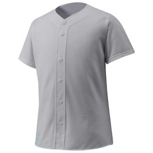 シャツ/オープンタイプ 野球 05グレー MIZUNO ミズノ ウエア ユニフォームシャツ 12JC6F4005 野球ウエア