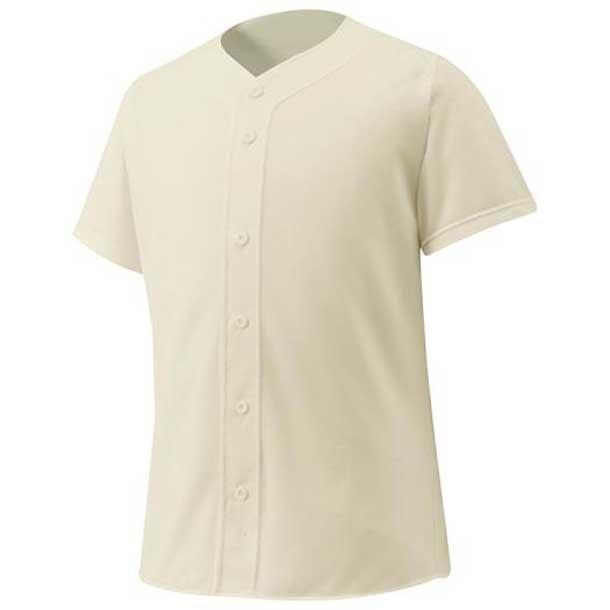 シャツ/オープンタイプ 野球 48アイボリー MIZUNO ミズノ ウエア ユニフォームシャツ 12JC6F4048 野球ウエア