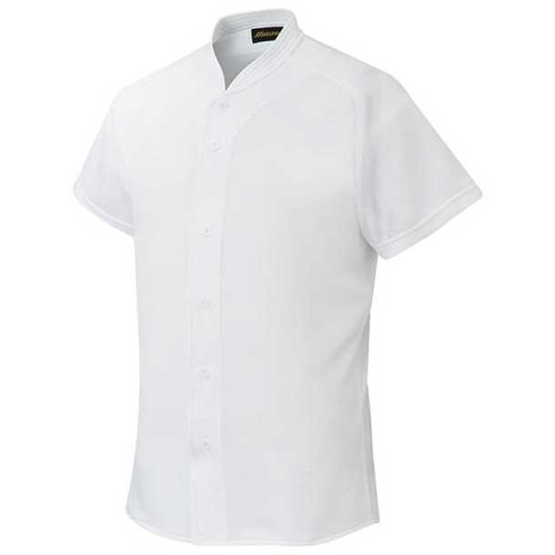 シャツ/オープンタイプ/小衿付 野球 01ホワイト MIZUNO ミズノ ウエア ユニフォームシャツ 12JC6F4101 野球ウエア
