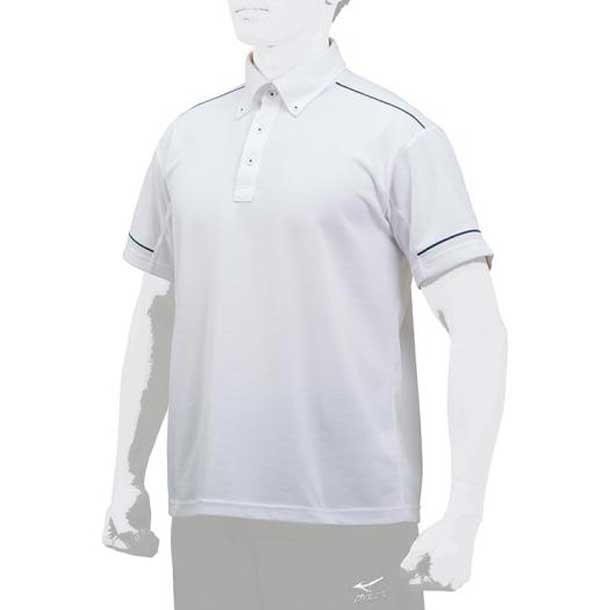 ポロシャツ MIZUNO ミズノ 野球 ウエア ベースボールシャツ 12JC7H11 12jc7h1101 野球ウエア