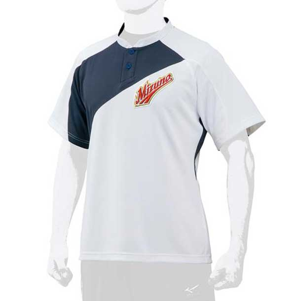 ミズノプロ ベースボールシャツ/侍ジャパンモデル MIZUNO ミズノ 野球 ウエア ベースボールシャツ 12JC7L01 12jc7l0114 野球ウエア