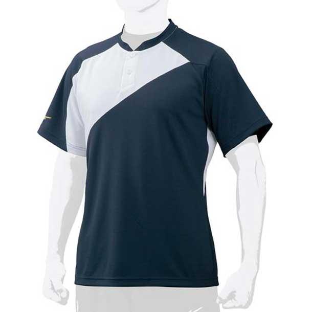 ミズノプロ ベースボールシャツ/侍ジャパンモデル MIZUNO ミズノ 野球 ウエア ベースボールシャツ 12JC7L01 12jc7l0174 野球ウエア