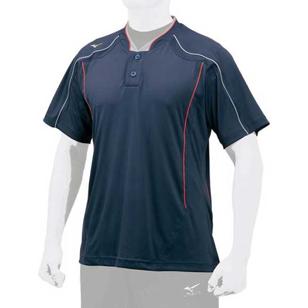 グローバルエリート ベースボールシャツ MIZUNO ミズノ 野球 ウエア 12JC7L06 12jc7l0674 野球ウエア