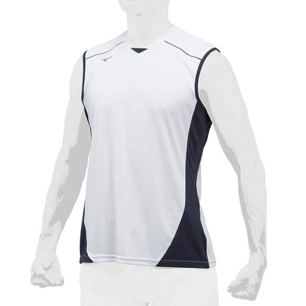 ミズノ 野球ウエア ベースボールシャツ/クールスリーブ MIZUNO 野球 ウエア ベースボールシャツ 12JC8L23 12jc8l2301