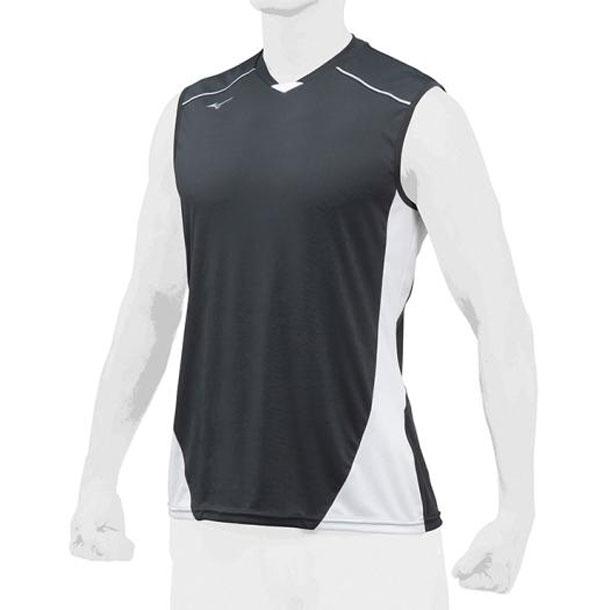 ミズノ 野球ウエア ベースボールシャツ/クールスリーブ MIZUNO 野球 ウエア ベースボールシャツ 12JC8L23 12jc8l2309