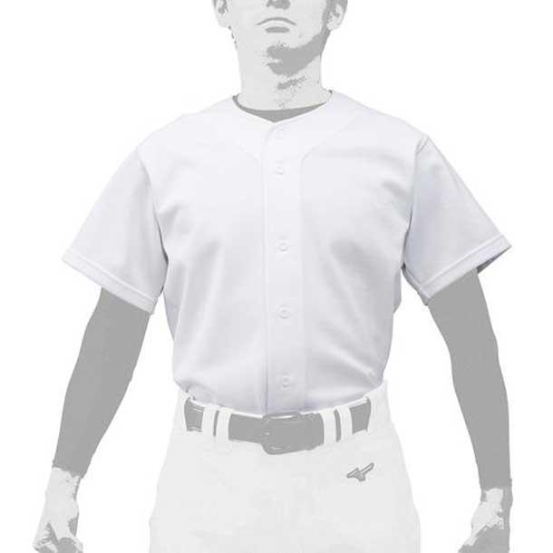 ミズノ 野球ウエア GACHIユニフォームシャツ/オープンタイプ ユニセックス MIZUNO 野球 ウエア ユニフォームシャツ 12JC9F60 12jc9f6001