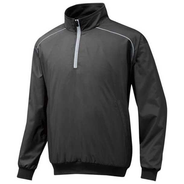ハーフZIPジャケット 09ブラック MIZUNO ミズノ 野球 ウエア ウォーマー/フリース 12JE5V4409 野球ウエア