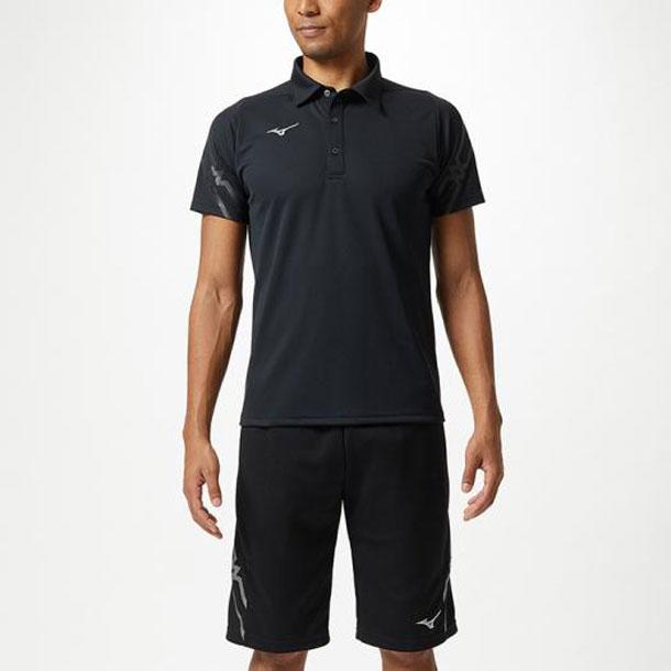 ポロシャツ(ユニセックス) 【MIZUNO】ミズノ トレーニングウエア ミズノトレーニング Tシャツ/ポロシャツ (32MA9176)