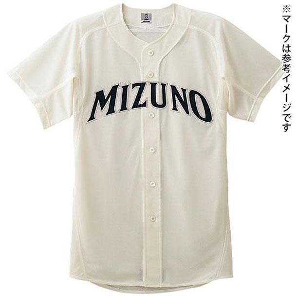 メッシュシャツ(オープン型)(野球) (48アイボリー) 【MIZUNO】ミズノ 野球 ウエア ユニフォームシャツ (52MW16848)