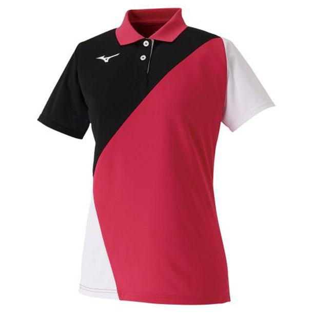 MIZUNO 62ja021565 ミズノ テニスウエア ゲームシャツ ラケットスポーツ レディース テニス/ソフトテニス ウエア ゲームウエア 62JA0215