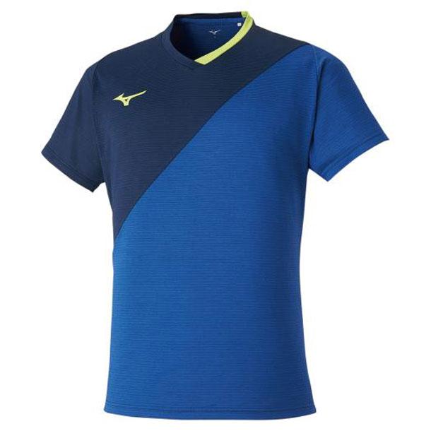 ゲームシャツ(ラケットスポーツ)(ユニセックス) 【MIZUNO】ミズノ テニス/ソフトテニス ウエア ゲームウエア (72MA0004)