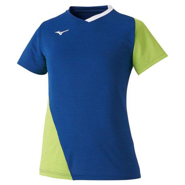 ゲームシャツ(ラケットスポーツ)(レディース) 【MIZUNO】ミズノ テニス/ソフトテニス ウエア ゲームウエア (72MA0201)