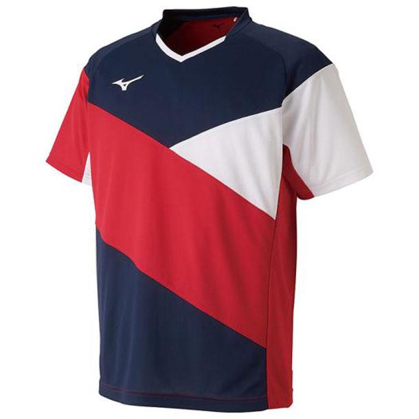 ドライサイエンスゲームシャツ(卓球)  【MIZUNO】ミズノ 卓球 ウエア ゲームシャツ (82JA9003)