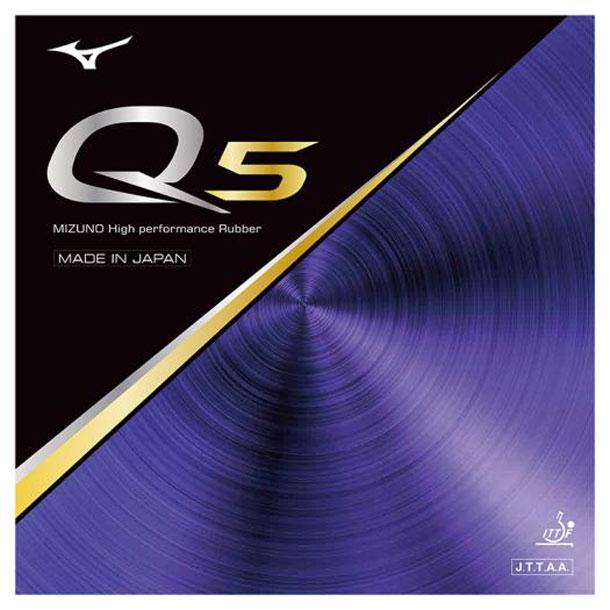 卓球ラバー Q5 【MIZUNO】ミズノ 卓球 ラバー Q (83JRT895)
