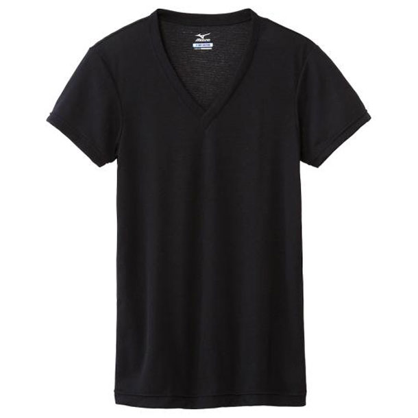 ミズノ MIZUNO c2ja610309 ドライベクターエブリ Vネック半袖シャツ 大きいサイズ アンダーウエア C2JA6103