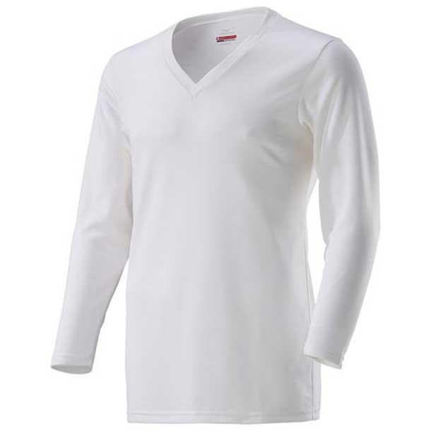 ミズノ c2ja861202 MIZUNO ブレスサーモ ブレスサーモアンダーVネック長袖シャツ 大きいサイズ メンズ アンダーウエア C2JA8612