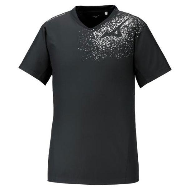 ミズノ バレーボールウエア ブレーカーシャツ 半袖 ユニセックス MIZUNO バレーボール ウエア ウィンドブレーカー V2ME0111 v2me011190