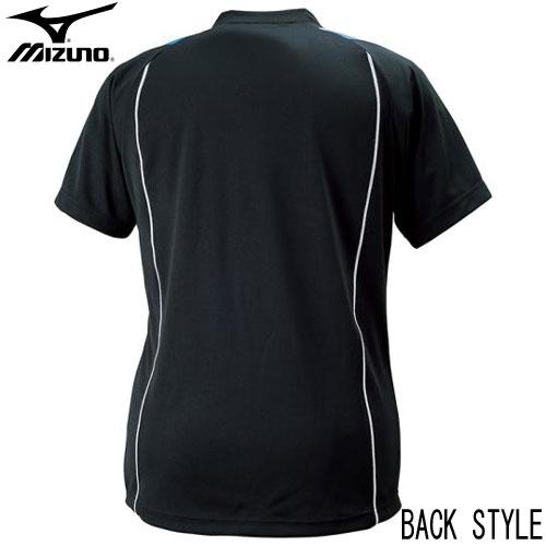 ミズノ バレーボールウエア プラクティスシャツ MIZUNO バレーボールウェアー 半袖Tシャツ 18AW V2MA6087