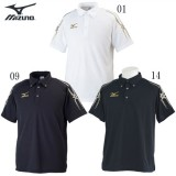 74c5b9832949f ポロシャツ(メンズ)【MIZUNO】ミズノトレーニングウエア ミズノ ポロシャツ18SS (32JA6075)
